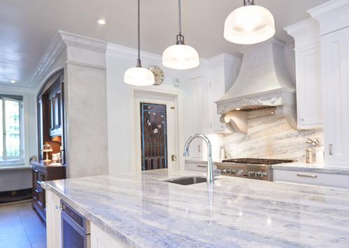 چه ارتفاعی برای نصب چراغ آویز در آشپزخانه
