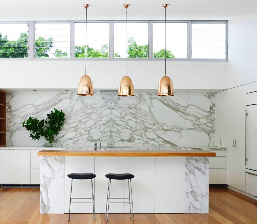 اصول استفاده از چراغ آویز در آشپزخانه