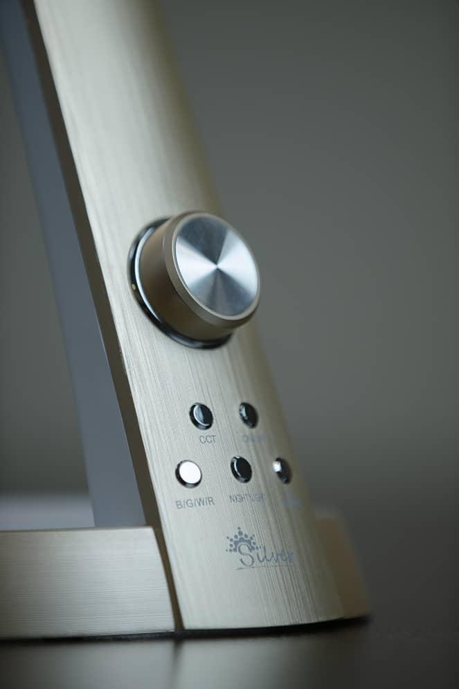 چراغ مطالعه مهندسی LED مدل 1063 سیلورلایت مشکی