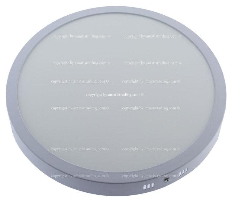 چراغ ال ای دی روکار دایره ۲۴ وات وایکینگ سرامیکی