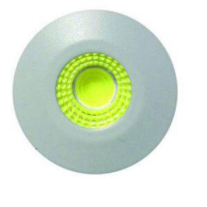 چراغ پارکتی ۱ وات COB گرد k901 سیلورلایت