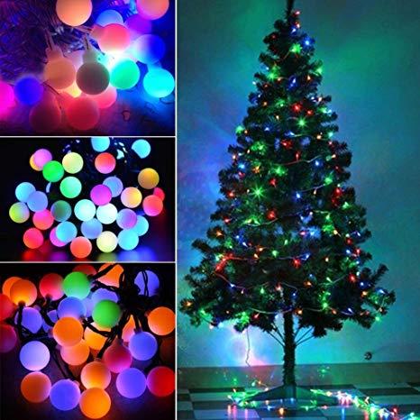 ریسه ی کریسمی تزئینی led رنگی RGB