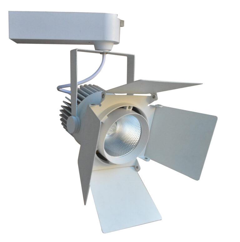 چراغ ریلی ۳۰ وات هود دار مدلT708 سیلورلایت