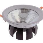 چراغ ۴۰ وات COB خرچنگی،برای فروشگاه و انبار سیلورلایت