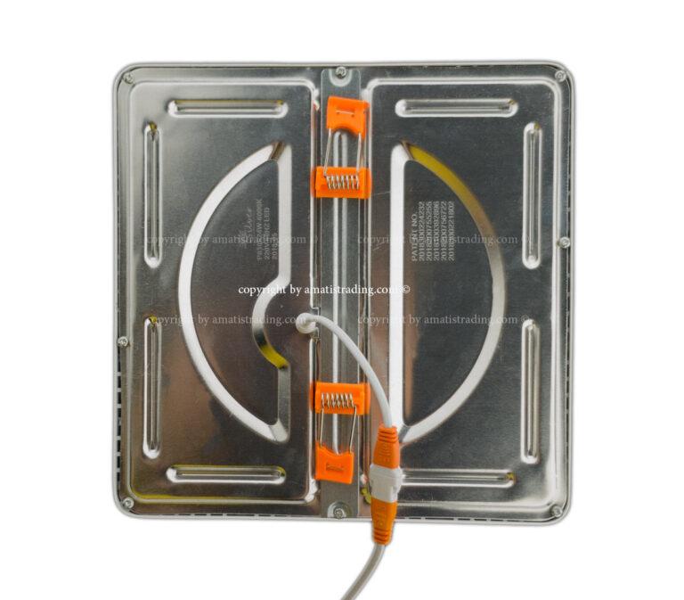 پنل ال ای دی ۲۴ وات توکار قابل تنظیم سیلورلایت، مناسب نصب در فریم کوچک