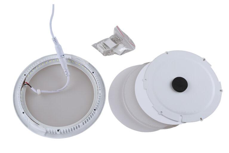 چراغ LED روکار سقفی گرد ۱۲وات
