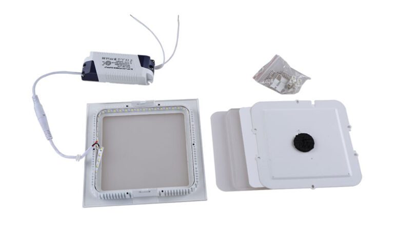 چراغ LED توکار سقفی مربع ۲۴ وات