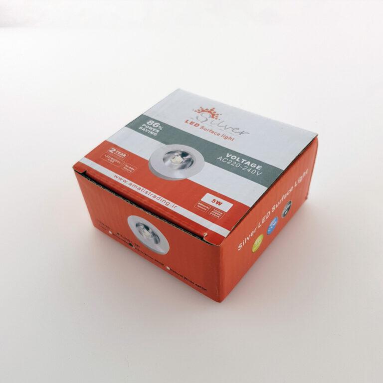 چراغ کابینتی دکوراتیو ۵ وات cob روکار مخصوص ویترین