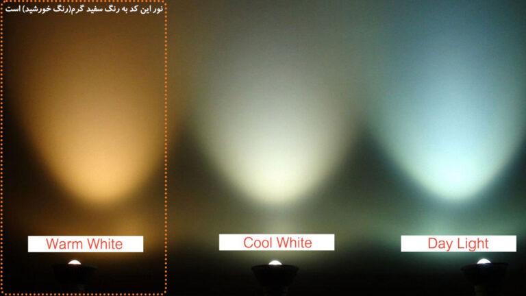 لامپ اشکی ۷ وات led ایران زمین مناسب لوستر