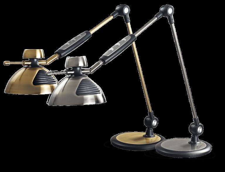 چراغ مطالعه مهندسی led مدل 1217 سیلورلایت